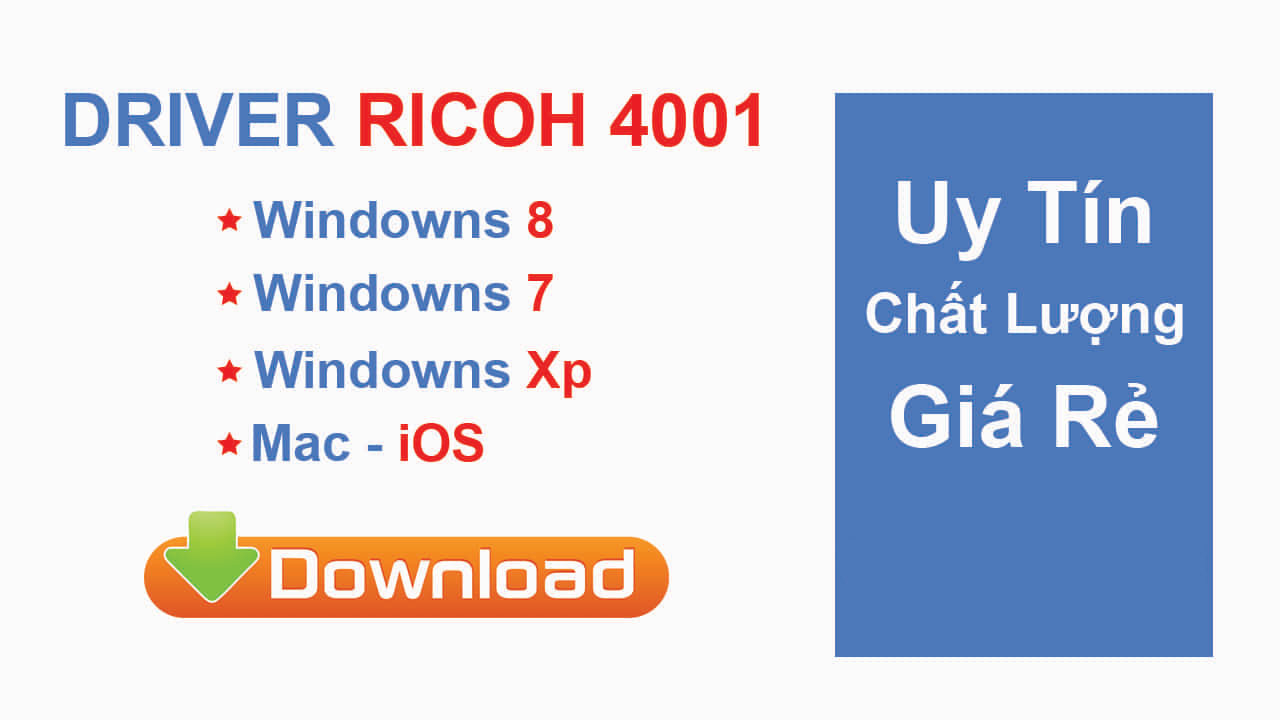 download driver Ricoh MP 4001